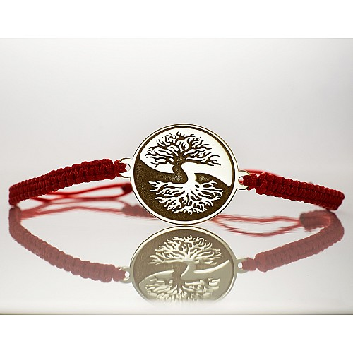 Bracelet from Gold or Platinum with Tree of Life design br977