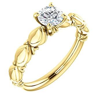Inel de logodna i121990 din Aur sau Platina cu Diamant - GIA
