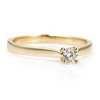 Inel de logodna i122089 din Aur sau Platina cu Diamant