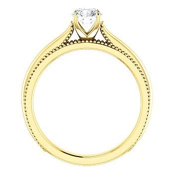 Inel de logodna i123160 din Aur sau Platina cu Diamant