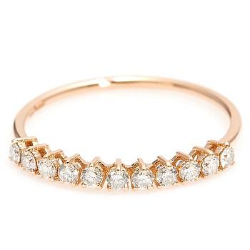 Inel trendy s007 din aur sau platina cu diamante naturale