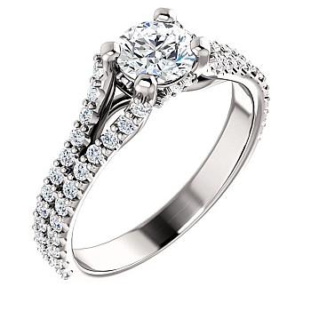 Inel de logodna i122094DiDi din Aur sau Platina cu Diamante - GIA