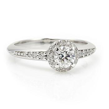 Inel de logodna din Platina cu Diamante p122699DiDi - Signature