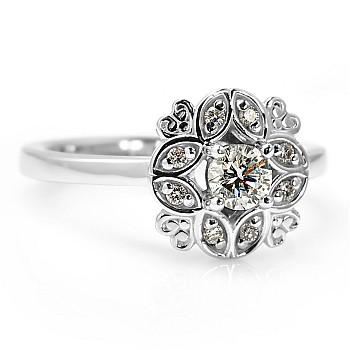 Inel de logodna i72000DiDi din Aur sau Platina cu Diamante