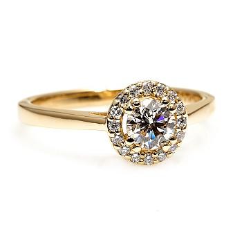 Inel de logodna i030DiDi din Aur sau Platina cu Diamante - GIA