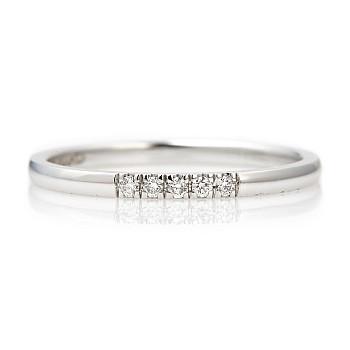 Inel Subtire i305didi din Aur sau Platina cu Diamante
