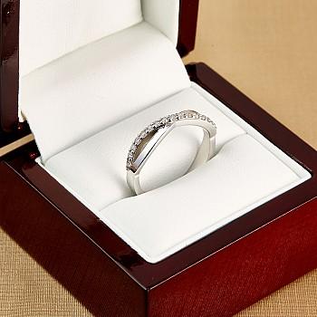 Inel aniversar i503didi din Aur cu Diamante