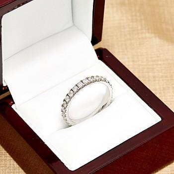 Inel aniversar i1565didi din Aur cu Diamante