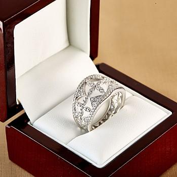 Inel Cadou i2815 din Aur cu Diamante