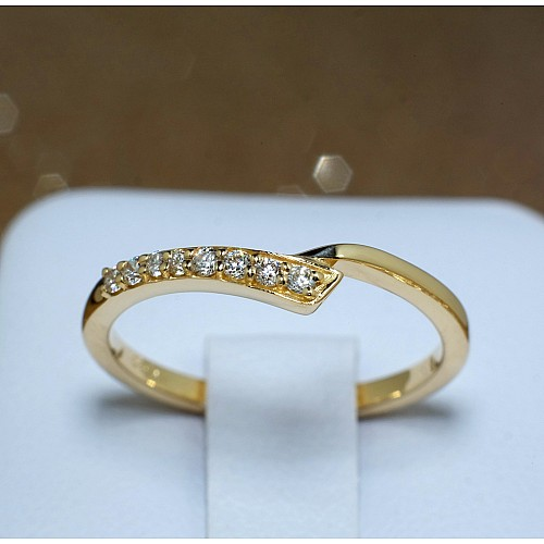 Anniversary ring from Gold with Diamonds 652129didi