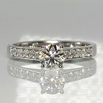 Inel de logodna i056DiDi din Aur sau Platina cu Diamante