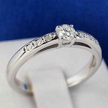 Inel de logodna i058didi din Aur sau Platina cu Diamante