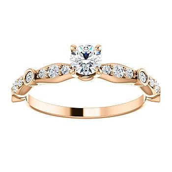 Inel de logodna i121993didi din Aur sau Platina cu Diamante - GIA