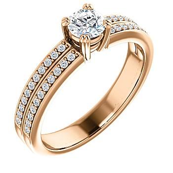 Inel de logodna i122376DiDi din Aur sau Platina cu Diamante - GIA