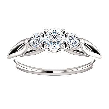 Inel de logodna i122513DiDi din Aur sau Platina cu Diamante - GIA