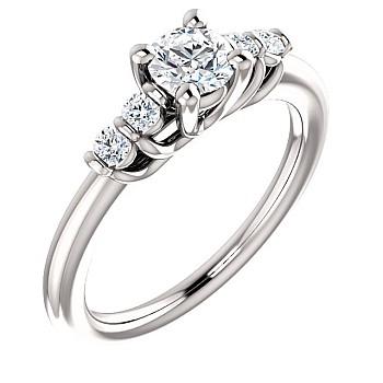 Inel de logodna i122543DiDi din Aur sau Platina cu Diamante - GIA