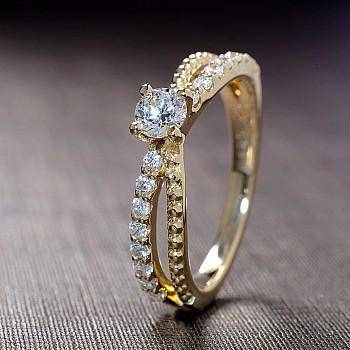 Inel de logodna i123140didi din Aur sau Platina cu Diamante - GIA