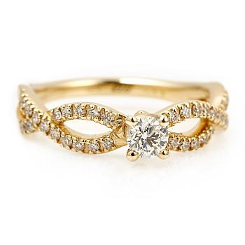 Inel de logodna i660DiDi din Aur sau Platina cu Diamante - GIA