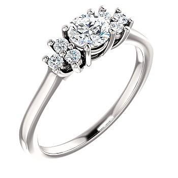 Inel de logodna i71604DiDi din Aur sau Platina cu Diamante - GIA