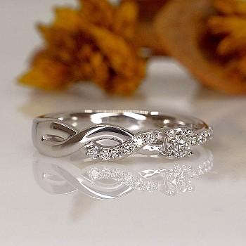 Inel de logodna i1684didi din Aur sau Platina cu Diamante