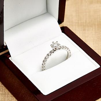 Inel de logodna i1869DIDI din Aur cu Diamante