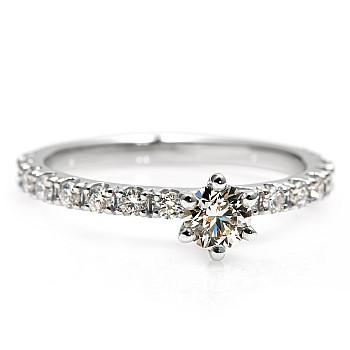 Inel de logodna i1869DIDI din Aur sau Platina cu Diamante - GIA