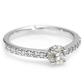 Inel de logodna i2617DIDI din Aur sau Platina cu Diamante - GIA
