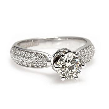 Inel de logodna i2764Didi cu Diamant 1.00ct din Aur sau Platina