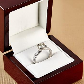 Inel de logodna i2949DiDi din Aur sau Platina cu Diamante - GIA