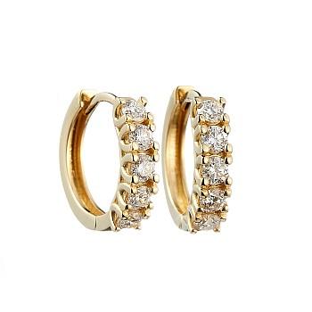 Cercei c122808 din Aur sau Platina cu Diamante