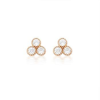Cercei c1954 din Aur sau Platina cu Diamante