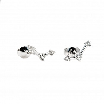 Constellation Diamond Earrings c1989 from Gold or Platinum