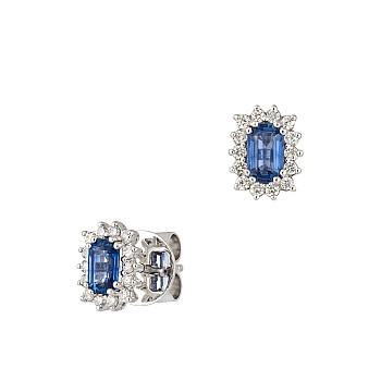 Cercei c2472sfemdi din Aur cu Safire Emerald si Diamante