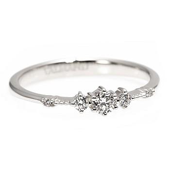 Inel de logodna i1788 din Aur sau Platina cu Diamante