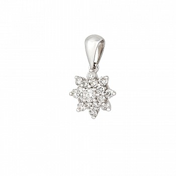Pandantiv pan2373 din Aur Alb cu Diamante