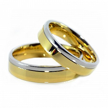 Wedding Bands v010 from Gold Two-Tone