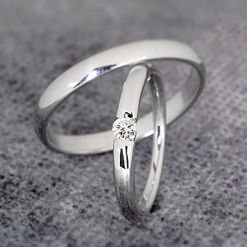 Verighete v0661 din Aur sau Platina cu Diamant